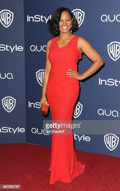 Actress Garcelle Beauvais arrives at the 2014 InStyle And Warner Bros 71st Annual Golden Globe Awards PostParty on January 12 2014 in Beverly Hills...