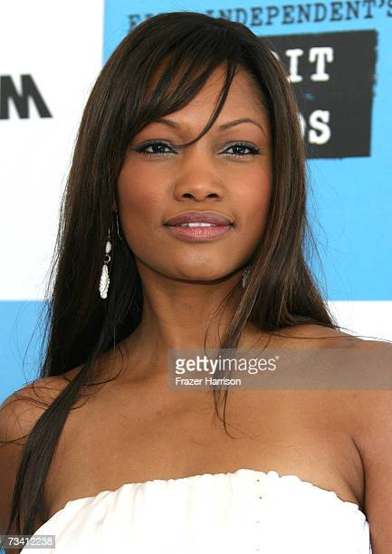 Actress Garcelle Beauvais arrives at the 22nd Annual Film Independent Spirit Awards held at Santa Monica Beach on February 24 2007 in Santa Monica...