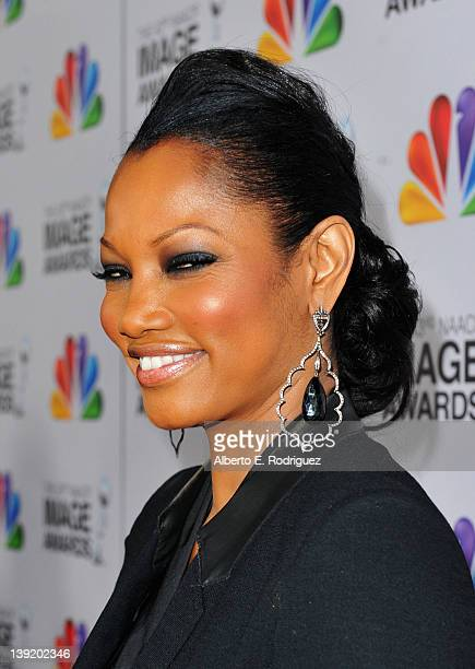 Actress Garcelle Beauvais arrives at the 43rd NAACP Image Awards held at The Shrine Auditorium on February 17 2012 in Los Angeles California