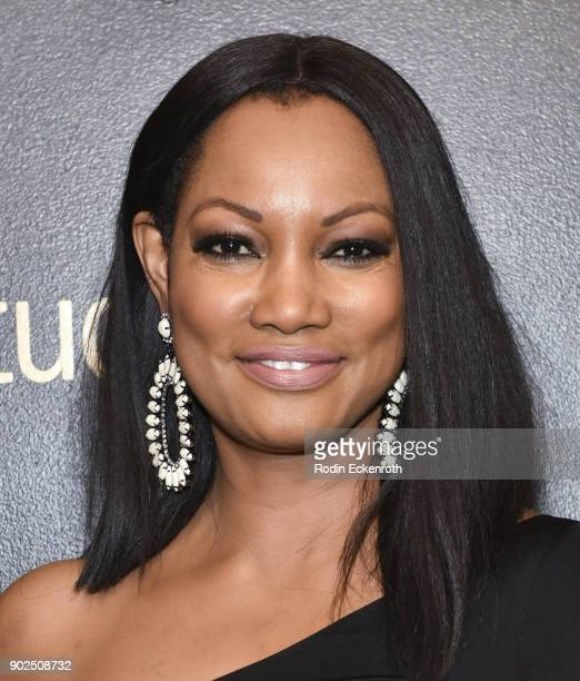 Actress Garcelle Beauvais arrives at the Amazon Studios Golden Globes Celebration at The Beverly Hilton Hotel on January 7 2018 in Beverly Hills...