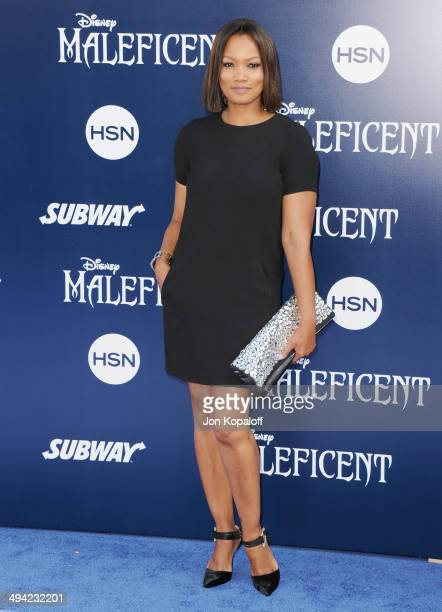 Actress Garcelle Beauvais arrives at the Los Angeles Premiere 'Maleficent' at the El Capitan Theatre on May 28 2014 in Hollywood California