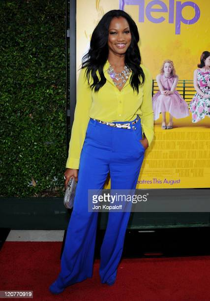 Actress Garcelle Beauvais arrives at the Los Angeles Premiere The Help at AMPAS Samuel Goldwyn Theater on August 9 2011 in Beverly Hills California