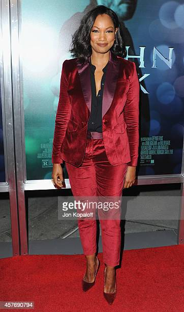 Actress Garcelle Beauvais arrives at the Los Angeles special screening 'John Wick' at ArcLight Hollywood on October 22 2014 in Hollywood California