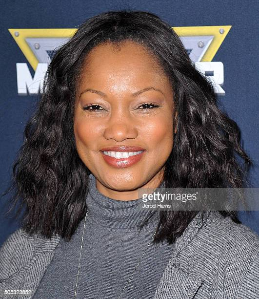 Actress Garcelle Beauvais arrives at the Monster Jam at Angel Stadium of Anaheim on January 16 2016 in Anaheim California