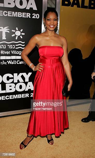 Actress Garcelle Beauvais arrives at the premiere of MGM's Rocky Balboa at the Grauman's Chinese Theater on December 13 2006 in Hollywood California