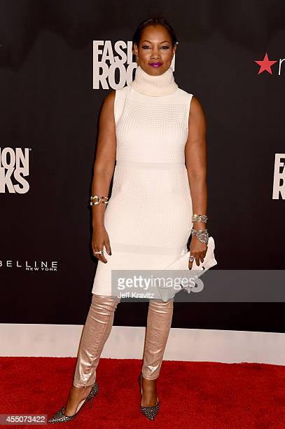 Actress Garcelle Beauvais attends Fashion Rocks 2014 at the Barclays Center on September 9 2014 in New York City