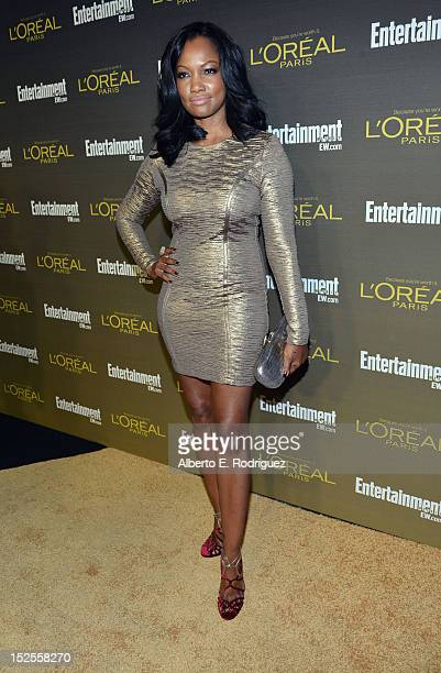 Actress Garcelle Beauvais attends The 2012 Entertainment Weekly PreEmmy Party Presented By L'Oreal Paris at Fig Olive Melrose Place on September 21...