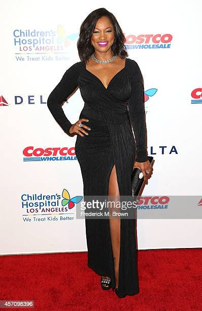 Actress Garcelle Beauvais attends the 2014 Children's Hospital Los Angeles Gala Noche De Ninos at LA Live Event Deck on October 11 2014 in Los...