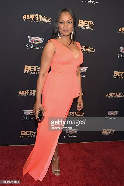 Actress Garcelle Beauvais attends the 2016 ABFF Awards A Celebration Of Hollywood at The Beverly Hilton Hotel on February 21 2016 in Beverly Hills...