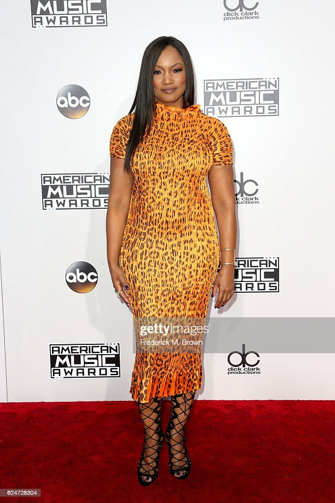 Actress Garcelle Beauvais attends the 2016 American Music Awards at Microsoft Theater on November 20, 2016 in Los Angeles, California.