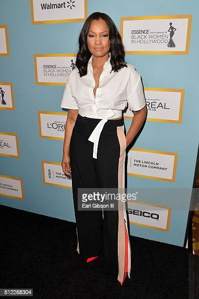 Actress Garcelle Beauvais attends the 2016 ESSENCE Black Women In Hollywood awards luncheon at the Beverly Wilshire Four Seasons Hotel on February 25...