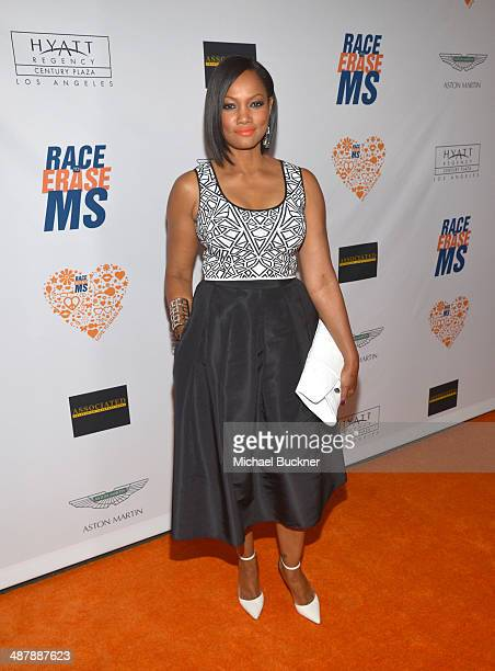 Actress Garcelle Beauvais attends the 21st annual Race to Erase MS at the Hyatt Regency Century Plaza on May 2, 2014 in Century City, California.