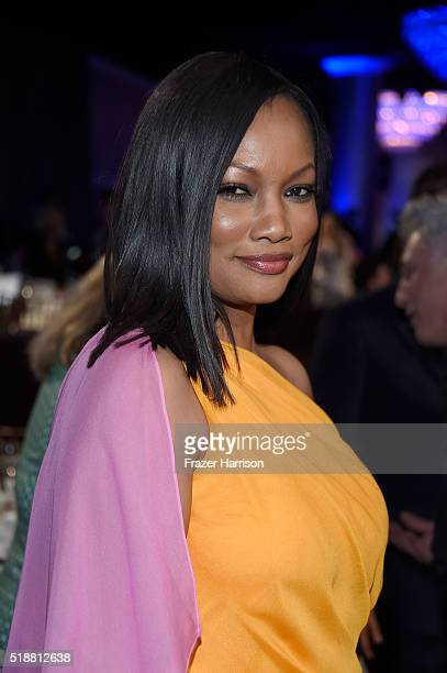 Actress Garcelle Beauvais attends the 27th Annual GLAAD Media Awards at the Beverly Hilton Hotel on April 2 2016 in Beverly Hills California