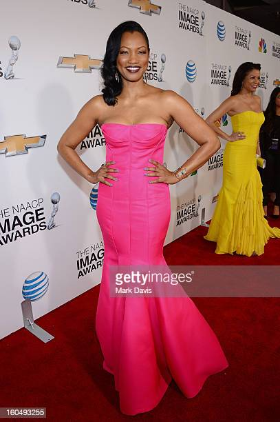 Actress Garcelle Beauvais attends the 44th NAACP Image Awards at The Shrine Auditorium on February 1 2013 in Los Angeles California