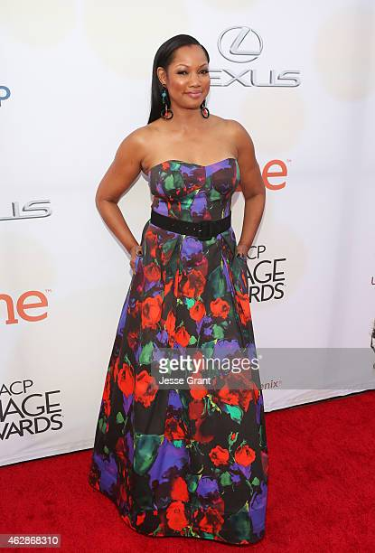 Actress Garcelle Beauvais attends the 46th NAACP Image Awards presented by TV One at Pasadena Civic Auditorium on February 6 2015 in Pasadena...