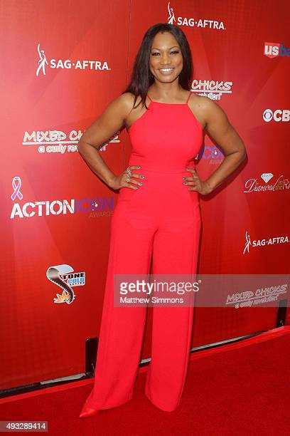 Actress Garcelle Beauvais attends the 8th annual Action Icon Awards at Sheraton Universal on October 18 2015 in Universal City California