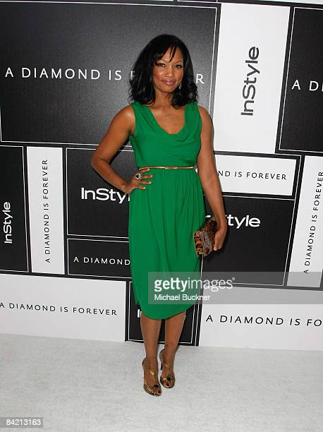 Actress Garcelle Beauvais attends the 8th Annual Awards Season Diamond Fashion Show Preview hosted by the Diamond Information Center and InStyle held...