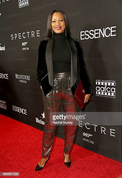 Actress Garcelle Beauvais attends the Black Women of Bond Tribute at the California African American Museum on November 3 2015 in Los Angeles...