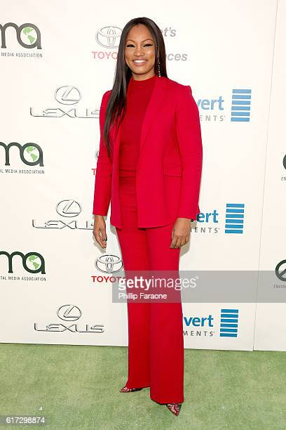 Actress Garcelle Beauvais attends the Environmental Media Association 26th Annual EMA Awards Presented By Toyota Lexus And Calvert at Warner Bros...