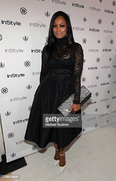 Actress Garcelle Beauvais attends the InStyle Summer Soiree held Poolside at the Mondrian hotel on August 14 2013 in West Hollywood California