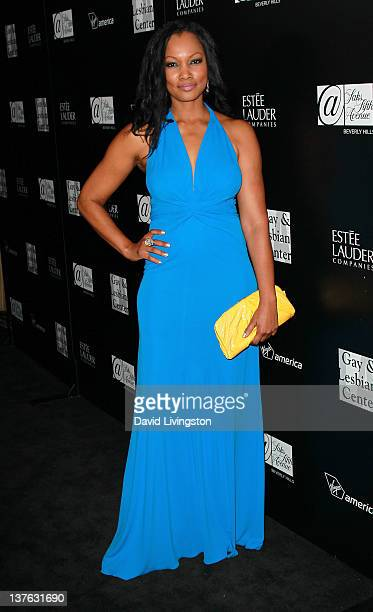 """Actress Garcelle Beauvais attends the L.A. Gay & Lesbian Center's """"An Evening"""" benefiting homeless youth services at Sunset Tower on January 23, 2012..."""