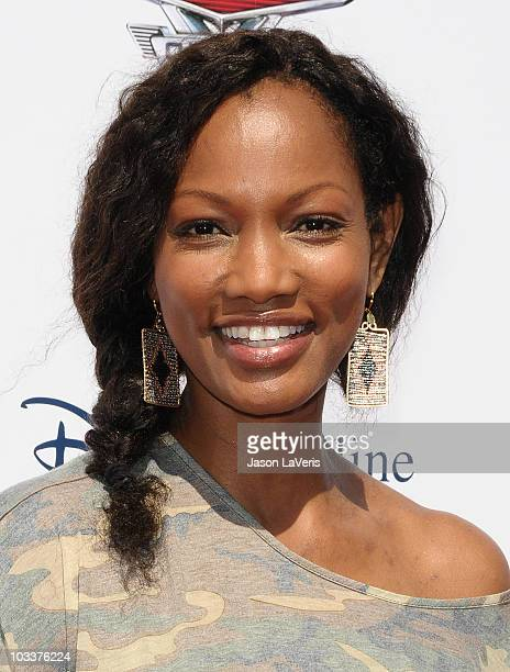 Actress Garcelle Beauvais attends the launch of 'The World Of Cars Online' at Flo's V8 Cafe on August 11 2010 in Burbank California