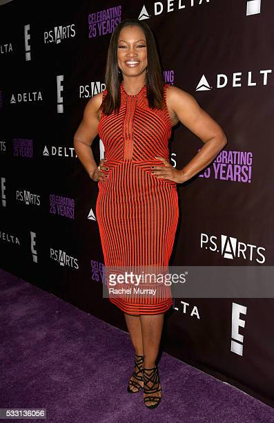 Actress Garcelle Beauvais attends the pARTy celebrating 25 years of PS ARTS on May 20 2016 in Los Angeles California