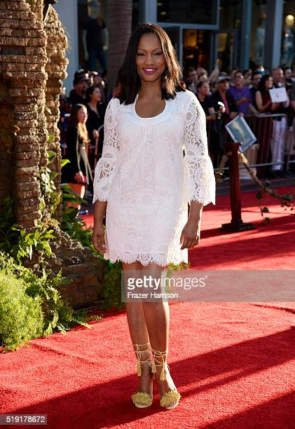 Actress Garcelle Beauvais attends the premiere of Disney's The Jungle Book at the El Capitan Theatre on April 4 2016 in Hollywood California