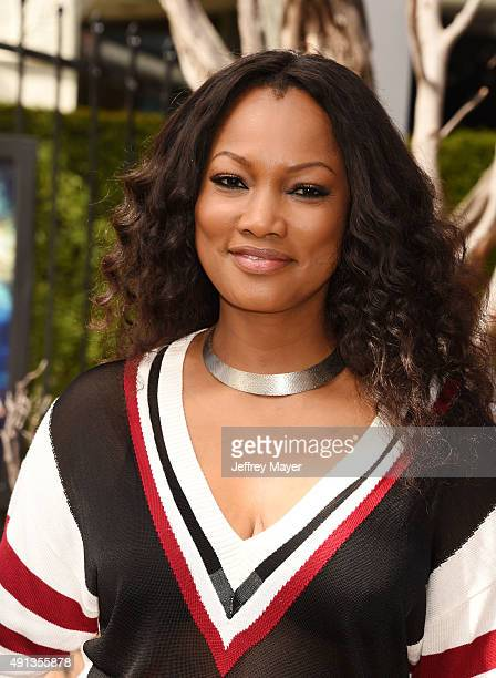 Actress Garcelle Beauvais attends the premiere of Sony Entertainment's 'Goosebumps' at the Regency Village Theater on October 4 2015 in Westwood...