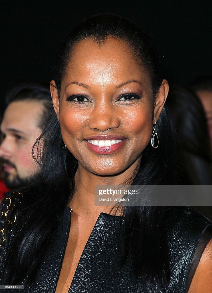 Actress Garcelle Beauvais attends the premiere of Walt Disney Animation Studios' 'Wreck-It Ralph' at the El Capitan Theatre on October 29, 2012 in Hollywood, California.