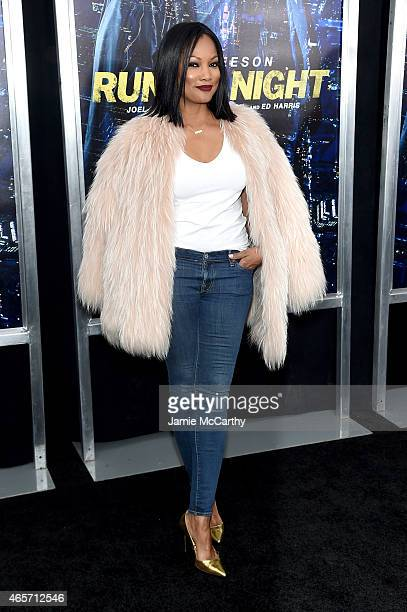Actress Garcelle Beauvais attends the 'Run All Night' New York Premiere at AMC Lincoln Square Theater on March 9 2015 in New York City
