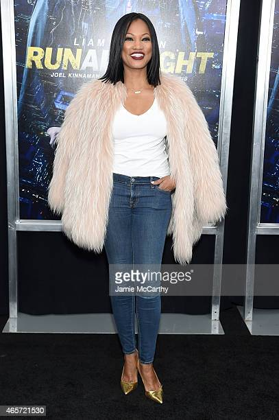 """Actress Garcelle Beauvais attends the """"Run All Night"""" New York Premiere at AMC Lincoln Square Theater on March 9, 2015 in New York City."""