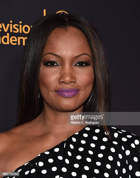 Actress Garcelle Beauvais attends the Television Academy And SAGAFTRA's 4th Annual Dynamic and Diverse Celebration at The Saban Media Center on...