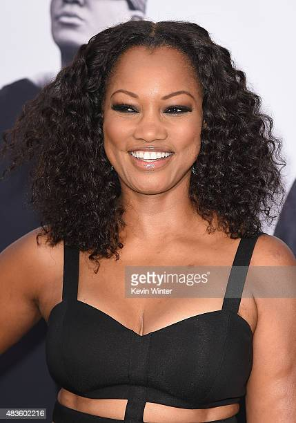 Actress Garcelle Beauvais attends the Universal Pictures and Legendary Pictures' premiere of Straight Outta Compton at Microsoft Theater on August 10...