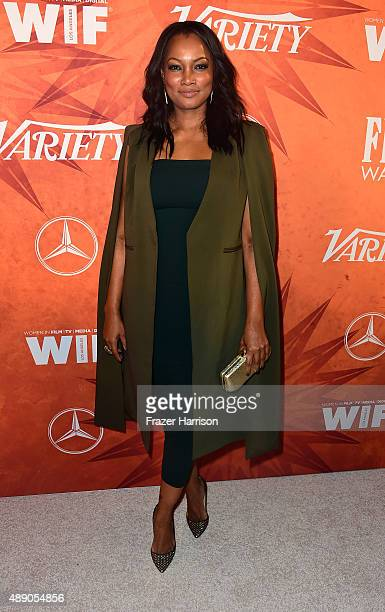 Actress Garcelle Beauvais attends the Variety and Women in Film Annual PreEmmy Celebration at Gracias Madre on September 18 2015 in West Hollywood...
