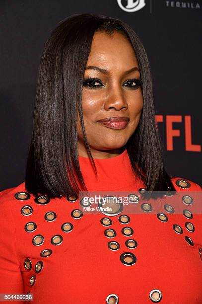 Actress Garcelle Beauvais attends The Weinstein Company and Netflix Golden Globe Party presented with DeLeon Tequila Laura Mercier Lindt Chocolate...
