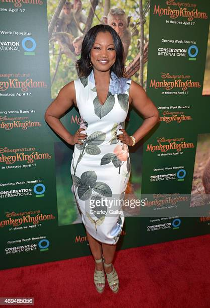 Actress Garcelle Beauvais attends the world premiere Of Disney's Monkey Kingdom at Pacific Theatres at The Grove on April 12 2015 in Los Angeles...