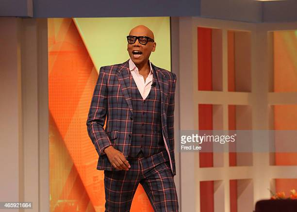 THE VIEW Actress Garcelle Beauvais guest cohosts RuPaul and comedian Tommy Davidson are guests March 9 2015 on Walt Disney Television via Getty...