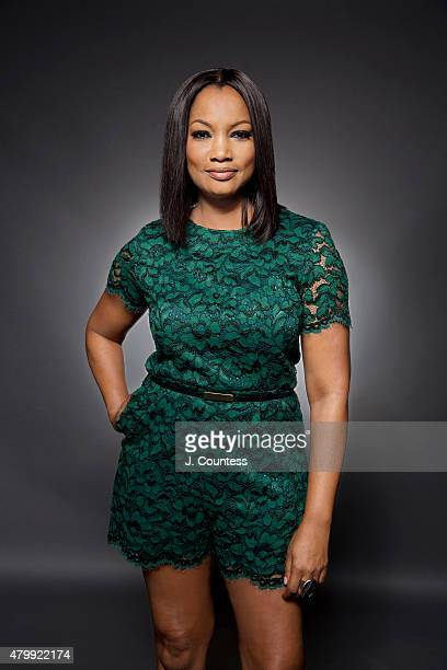 Actress Garcelle Beauvais poses for a portrait at the American Black Film Festival on June 14 2015 in New York City
