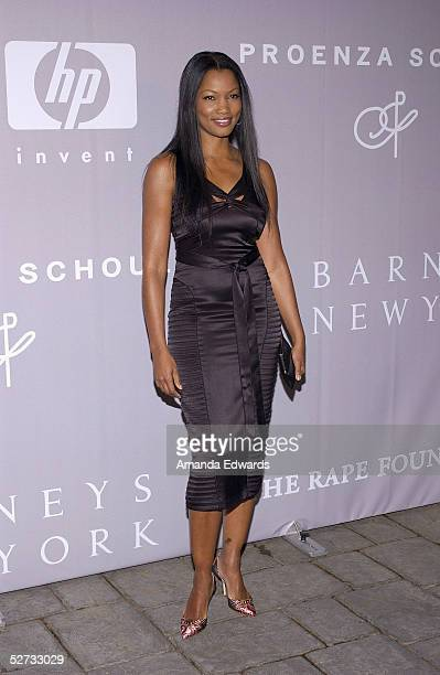 Actress Garcelle BeauvaisNilon arrives at the Fall 2005 Proenza Schouler Fashion Show benefiting The Rape Foundation at the home her and her husband...
