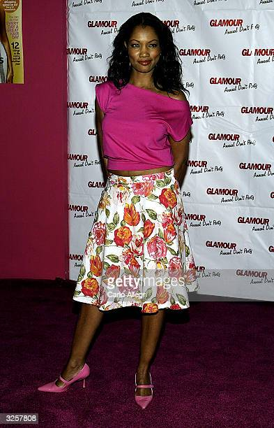 Actress Garcelle BeauvaisNilon arrives for Glamour Magazine's Don't party at Del Taco April 7 2004 in Los Angeles California