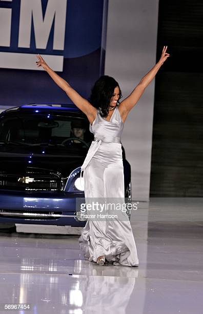 Actress Garcelle BeauvaisNilon walks onstage at the General Motors Ten event on February 28 2006 in Hollywood California