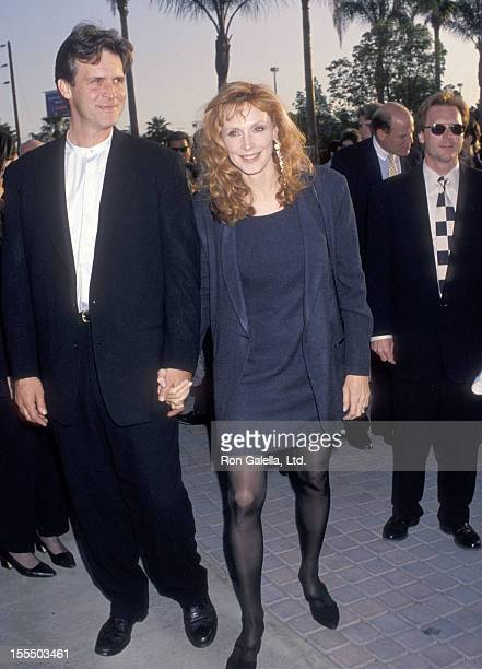 Actress Gates McFadden and husband John Talbot attend the Screening of Star Trek The Next Generation Series Finale All Good Things on May 19 1994 at...