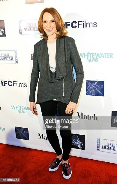 Actress Gates McFadden arrives for the Premiere Of Match held at Laemmle Music Hall on January 14 2015 in Beverly Hills California