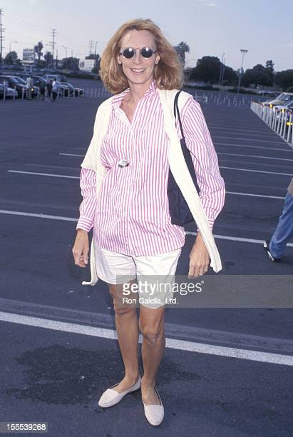 Actress Gates McFadden attends The Greatest Show on Earth Ringling Bros and Barnum Bailey Circus 127th Edition on August 7 1997 at the Great Western...