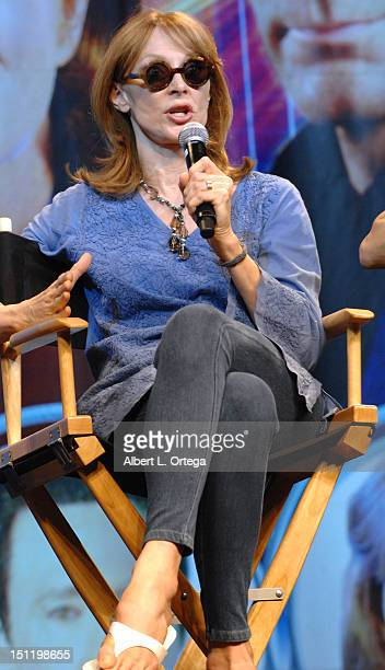 Actress Gates McFadden participates in the 11th Annual Official Star Trek Convention day 3 held at the Rio Hotel Casino on August 11 2012 in Las...