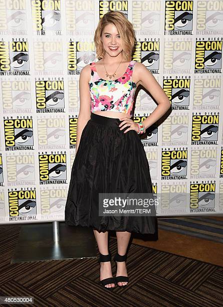 "Actress Gatlin Green attends ""Heroes Reborn"" Press Room during Comic-Con International 2015 at Hilton Bayfront on July 12, 2015 in San Diego,..."