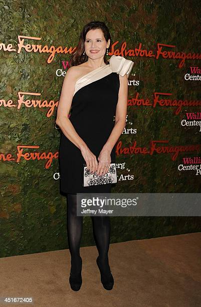 Actress Geena Davis arrives at the Wallis Annenberg Center For The Performing Arts Inaugural Gala at Wallis Annenberg Center for the Performing Arts...