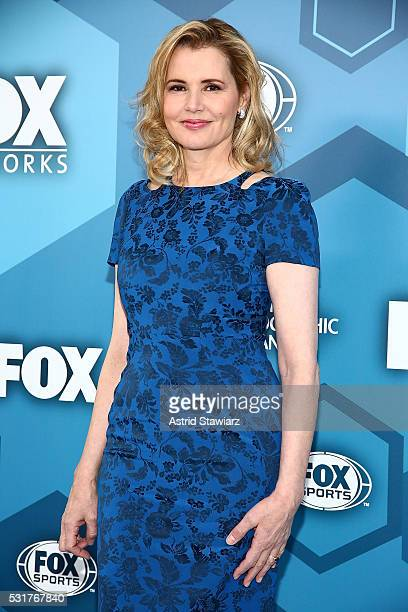 Actress Geena Davis attends FOX 2016 Upfront Arrivals at Wollman Rink Central Park on May 16 2016 in New York City