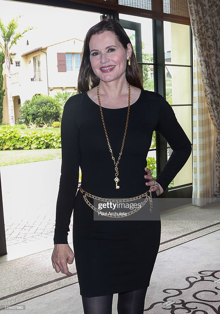 Actress Geena Davis attends the 2013 New Executive Leaders Forum at the Terranea Resort on July 25, 2013 in Rancho Palos Verdes, California.